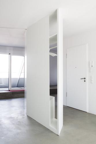 garderobe als raumteiler prinsenvanderaa. Black Bedroom Furniture Sets. Home Design Ideas